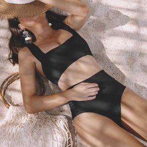 NWOT L Space // Jackie High Waist Bikini Bottom